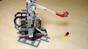 Image for Catapult Frame build from LEGO Mindstorms