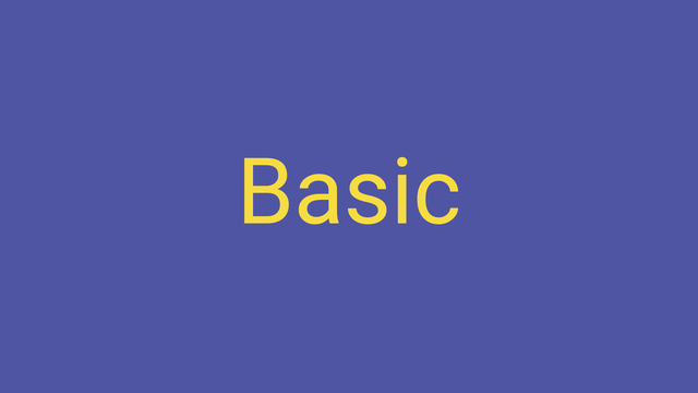 Image for Basic