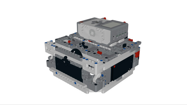 Image for Box Robot Three - with three light sensors and one Gyro