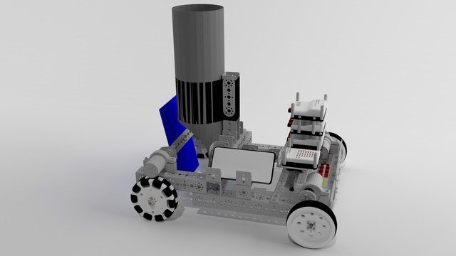 Tetrix Box Robot chassis for FTC competitions image