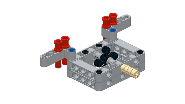 Image for Box Robot Two Central Axle Attachment