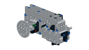 Image for Box Robot Two Push/Pull Attachment with a Rack
