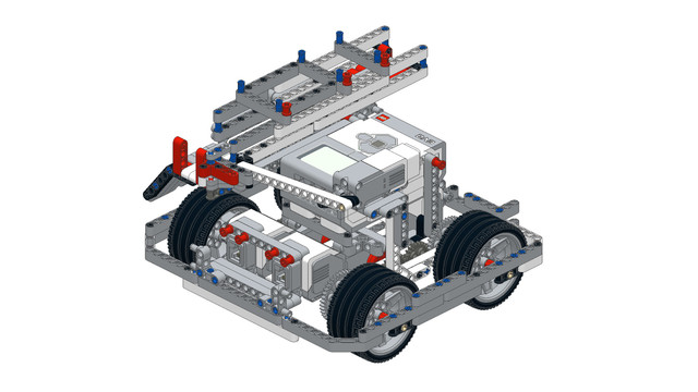 Image for WRO Robot building instruction