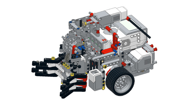 Image for WRO Robot Grabber from LEGO Mindstorms EV3