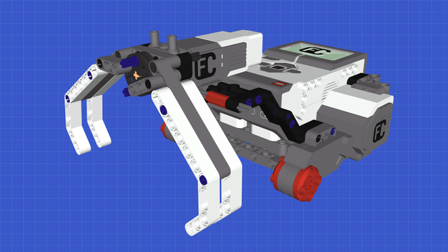 Image for Earl Bot - Grabbing and Clearing LEGO Mindstorms Robot without wheels
