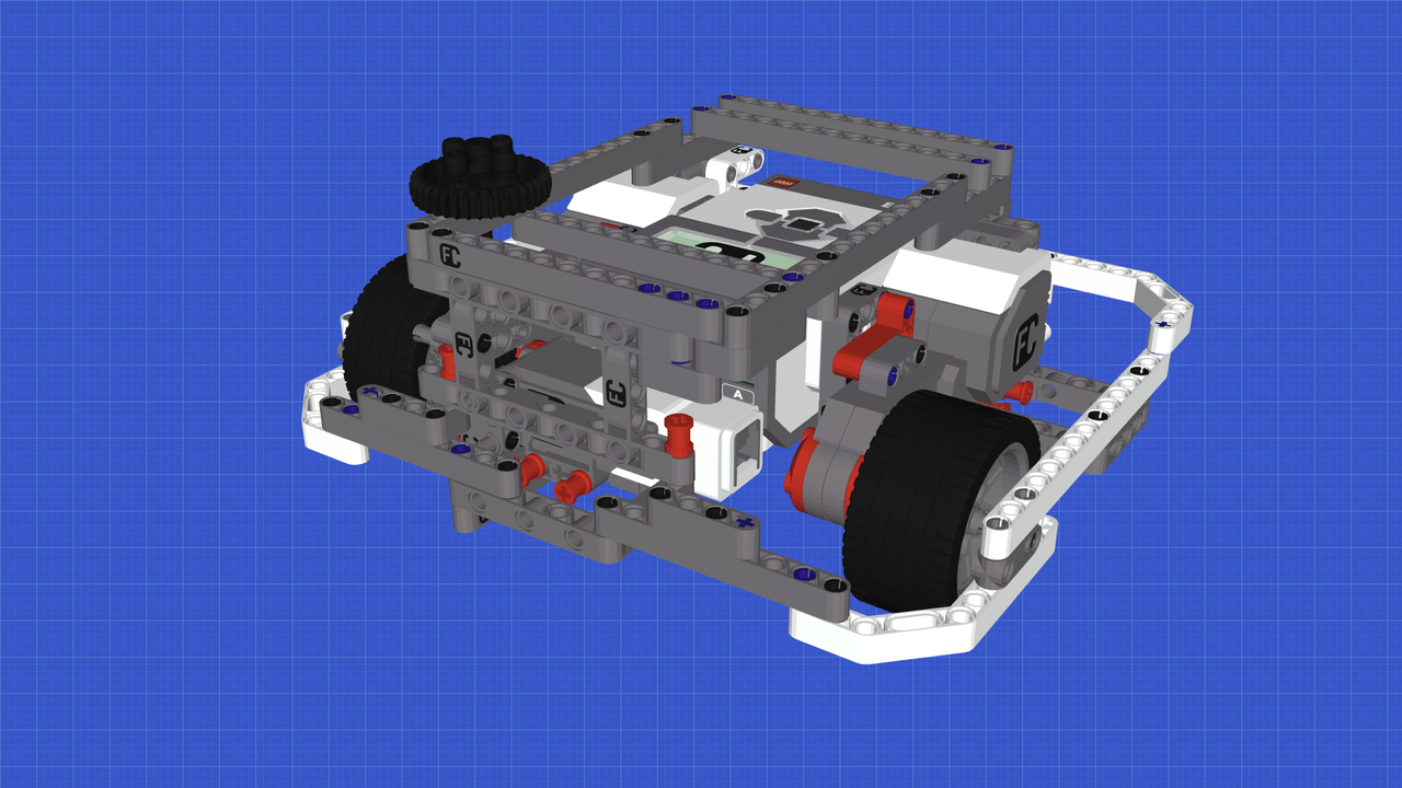 Image for Box Robot Lookalike - Light LEGO Mindstorms Robot following the Box Robot principle