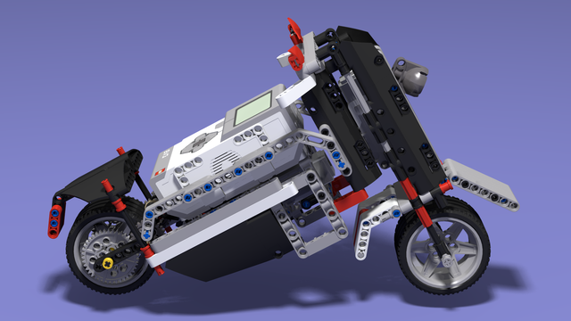 Build Ninja - Sports Motorcycle built with LEGO Mindstorms EV3