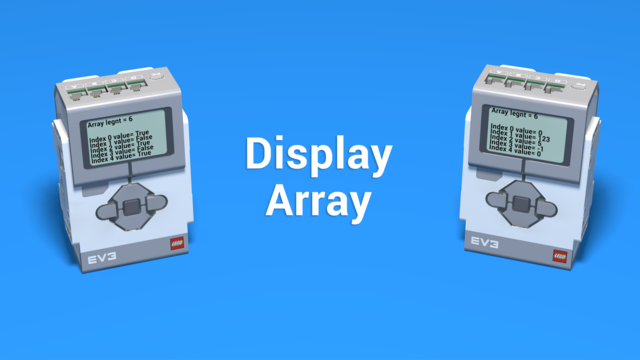 Image for Display Array Blocks