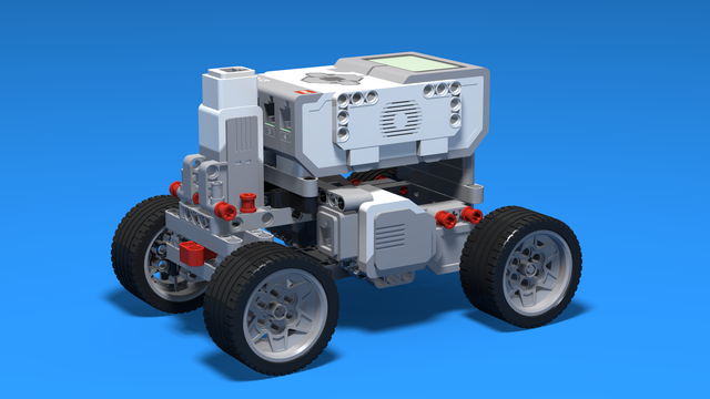 Image for Boomer - Car with two driving large motors built with LEGO Mindtorms EV3