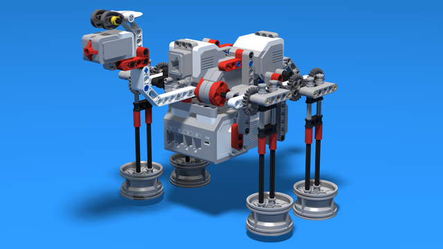 Image for Camel built from LEGO EV3 Mindstorms