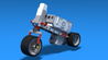 Image for Welder - super simple Motorcycle built with LEGO Mindstorms EV3
