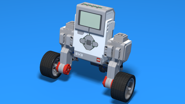 Image for Ecloid - LEGO Robot With Wide Back Attachment of Motors