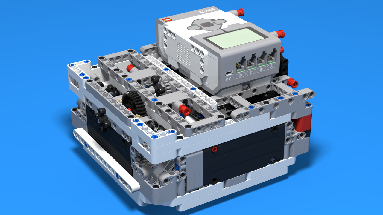 Picture of Box Robot Two for LEGO Mindstorms Competitions