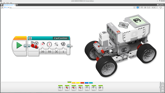 Image for EV3-G MyBlock for moving the Boomer