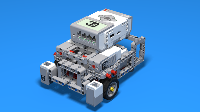 Image for Robot with Front Wheels