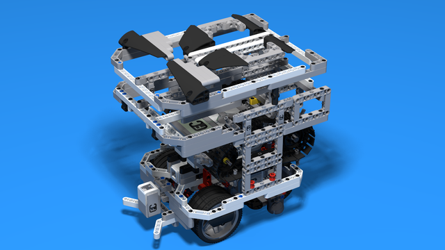Image for WRO Robot LEGO Base for container attachment