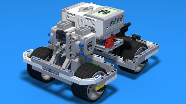 Image for Two rear motors on BigDaddy Competition Construction Robot