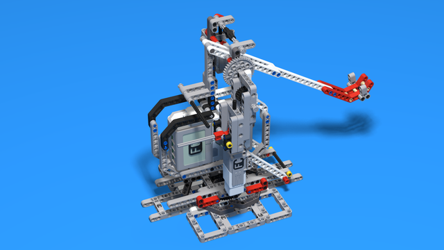Image for Catapult Full - Full catapult from LEGO Mindstorms with a Motor and a Touch Sensor