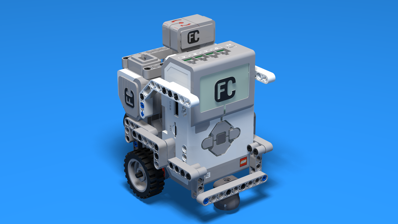 Image for Maze Runner - LEGO Mindstorms Robot for maze runs