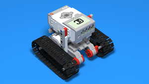 Image for Simple Tank and Treads. Robot 2