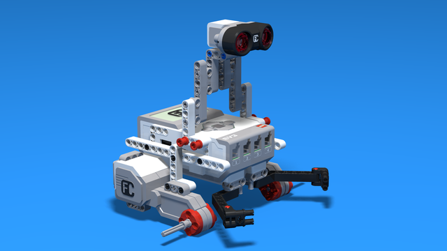 Image for Simple Catch Bot - LEGO Mindstorms Robot for catching objects