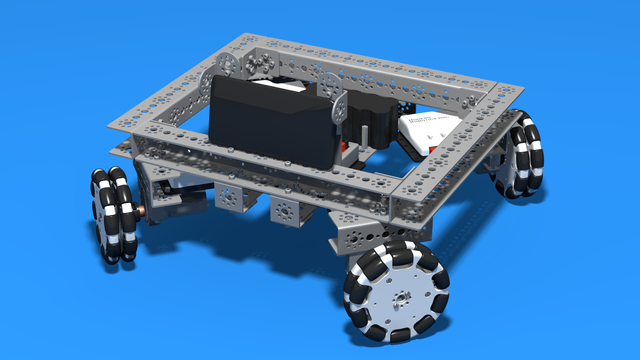 Image for Tetrix Box Robot chassis for FTC competitions