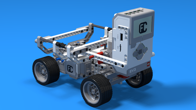 Image for Level B2. Military technologies with LEGO Mindstorms Robotics