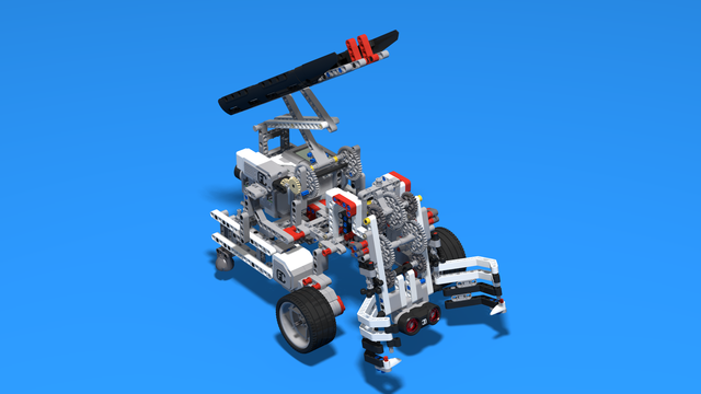 Image for WRO Catch and Move Robot. Full Version