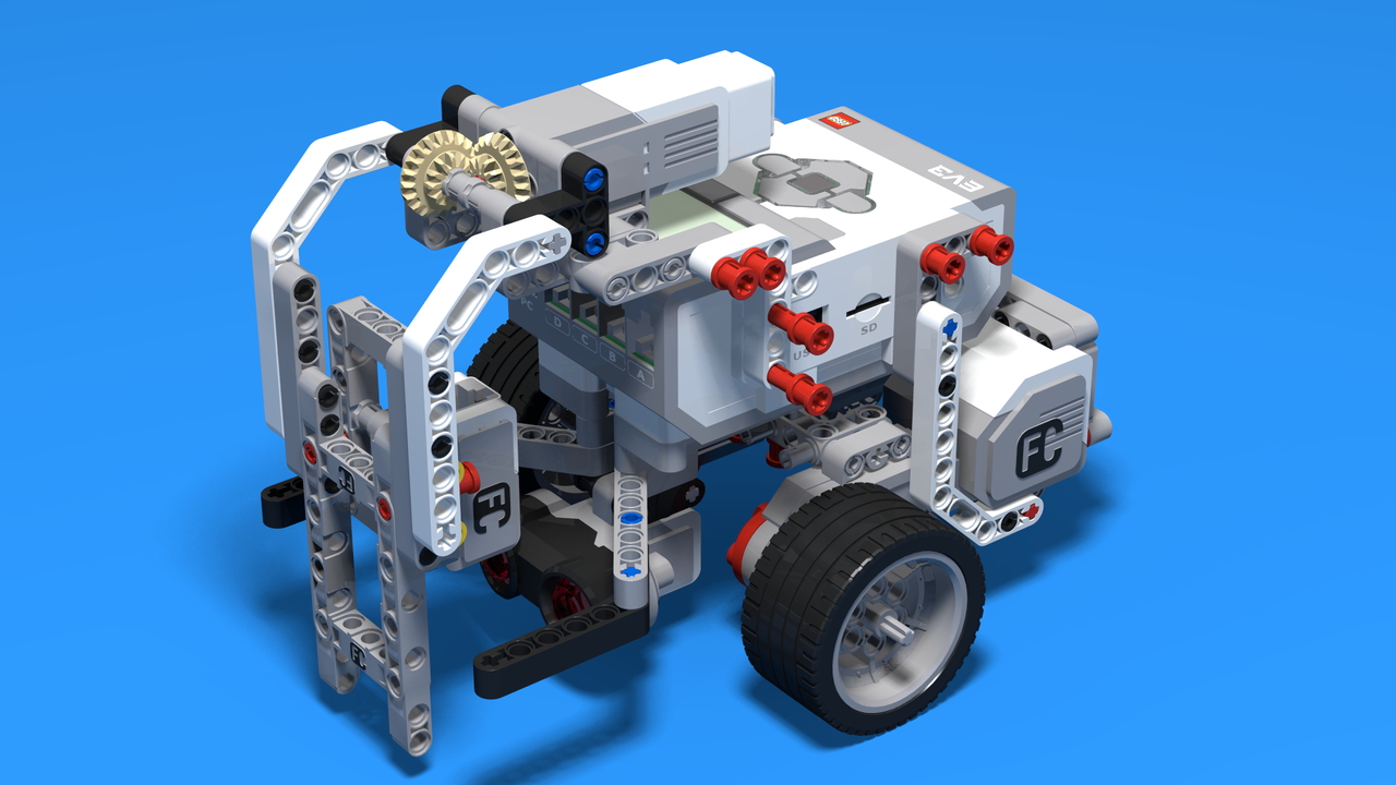 Image for CubeHunter - LEGO EV3 ball cube sorting robot