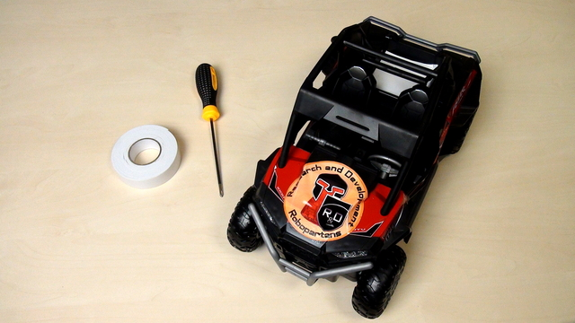 Image for Opening the RC Remote Control Car