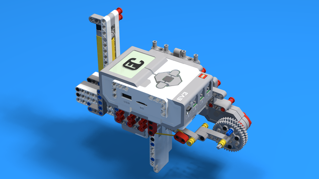 Image for Shooting Gun build from EV3 Lego Mindstorms