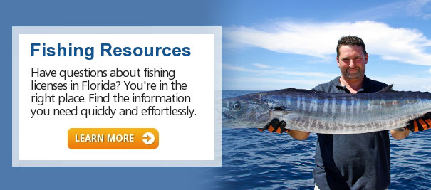 Welcome to get your florida for Fishing license florida