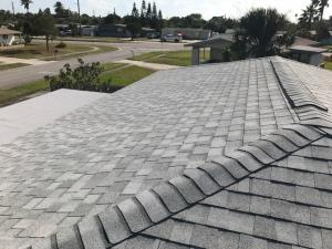 New shingle roof overview