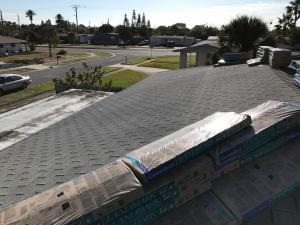 Old Shingle Roof