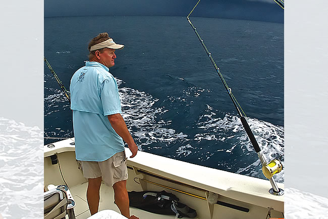 Guy Harvey and the Sea