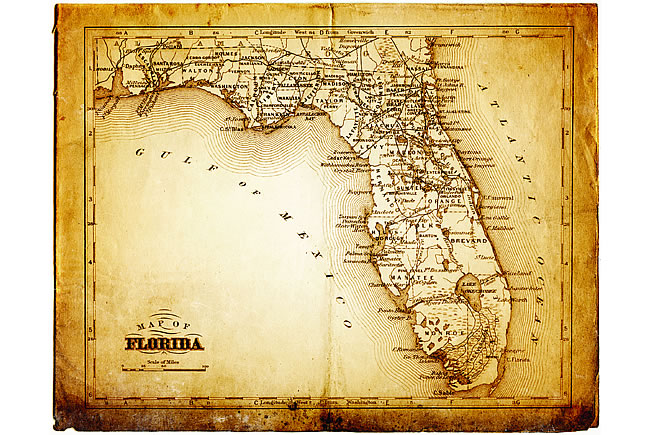 Viva 500 - Map of Florida