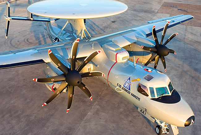 Northrop Grumman's E-2D Advanced Hawkeye