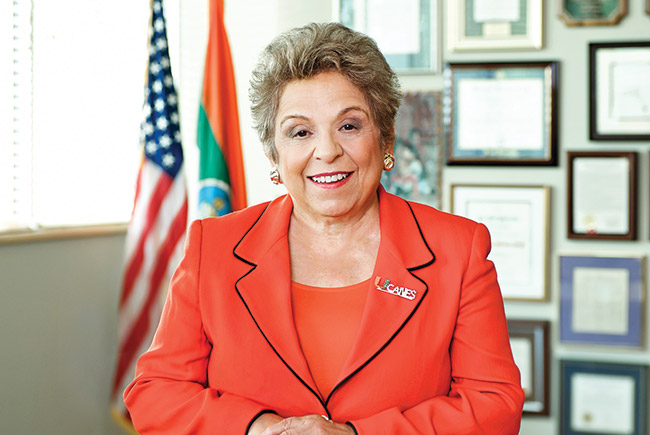 Exit interview with UM President Donna Shalala