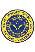 Florida Bar Certification seal