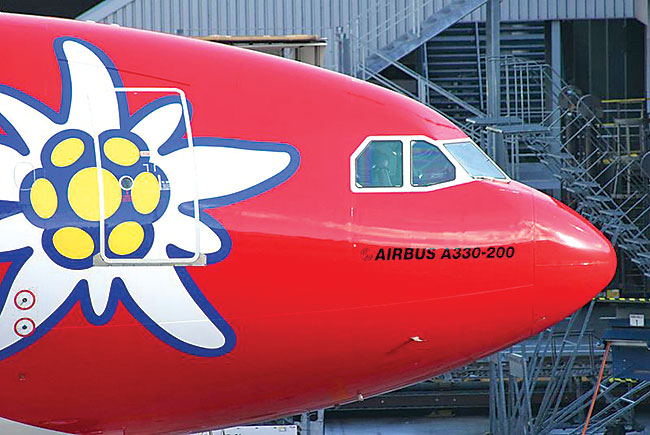 Edelweiss Airbus