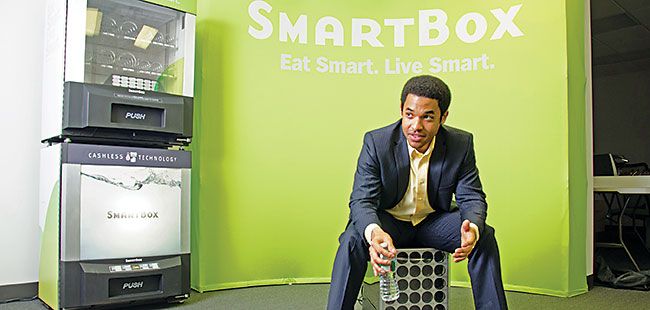 SmartBox: Cashless vending machines