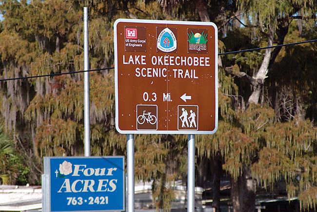Lake Okeechobee scenic trail