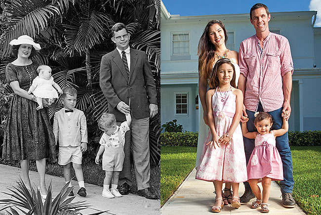 Family - Then and Now