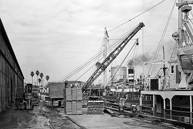 Port of Tampa 1960