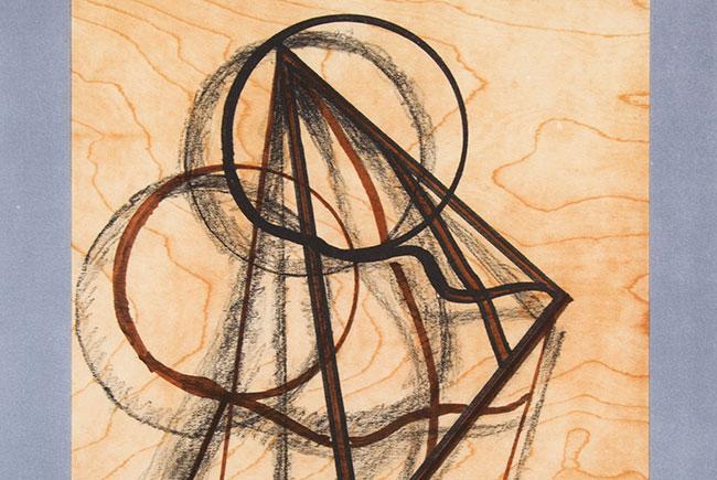 Man Ra's Ombres sur fond bois, 1972