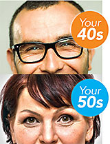 Your 40s and 50s