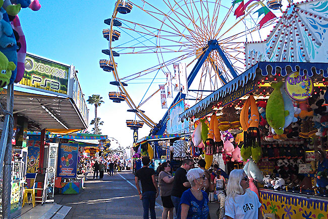 Midway at the Florida State Fair