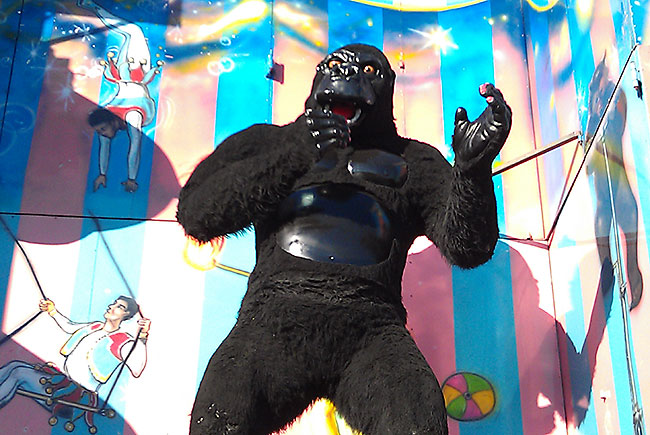 King Kong at the state fair