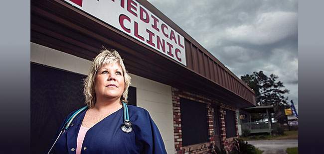 Nurse practitioners caught between a doc and a hard place