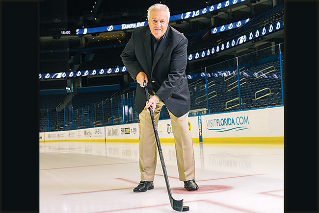 Life lessons from hockey great Phil Esposito